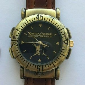 Disney Pirates of the Caribbean Watch Metal Leathe